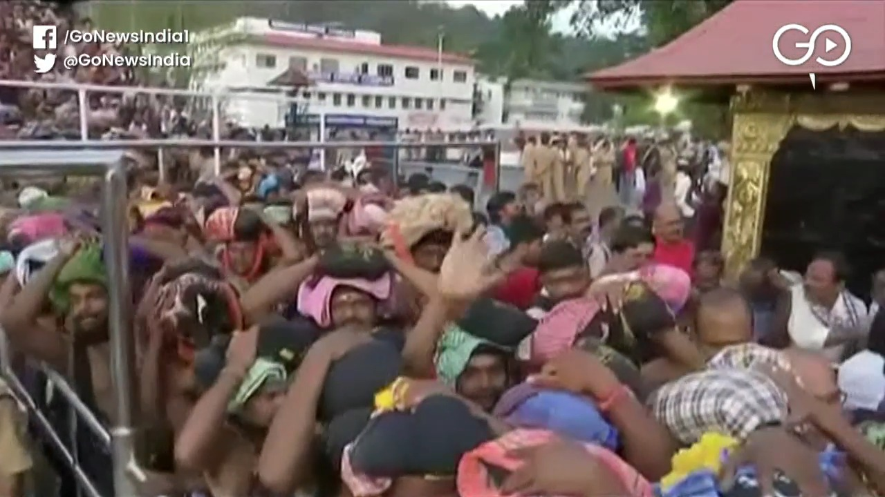 Sabrimala Temple Opened Today, 10 Women Sent Back