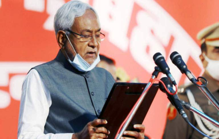 CAA: 'missing' posters about Nitish Kumar in Patna