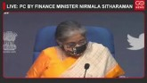 LIVE: Briefing By Finance Minister Nirmala Sithara