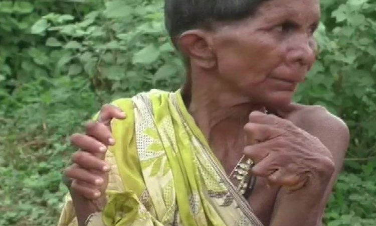 ODISHA: ELDERLY WOMAN HARASSED AS 'WITCH'