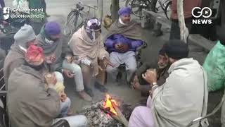 Cold Wave Grips North India