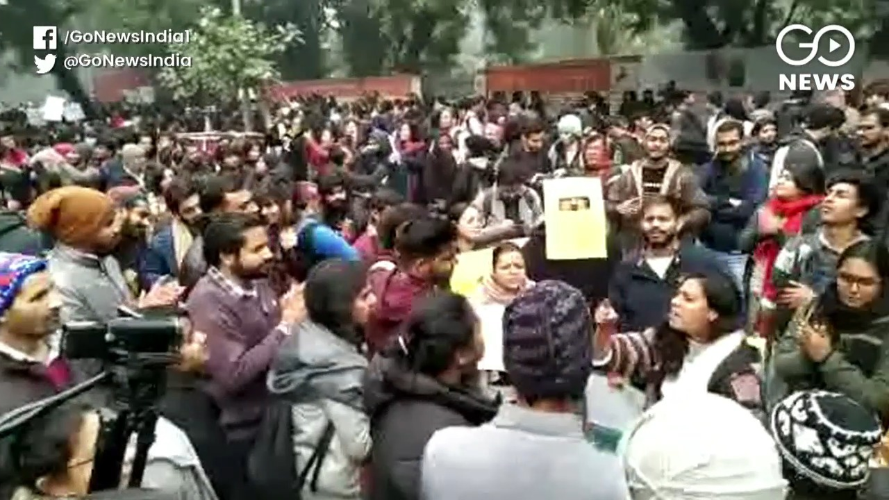 Delhi-NCR Grinds To A Halt During Anti-CAA Protest
