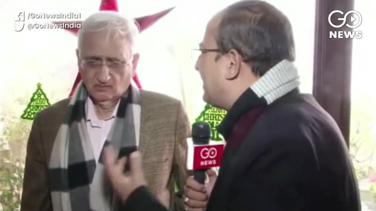 Salman Khurshid: This Government Doesn't Believe I