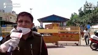 No COVID-19 Lockdown Effect On Delhi's Azadpur Man