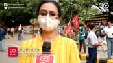 Hathras Case: CITU, AIKS, AIAWU Hold Protest, Dema