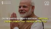 On PM Modi's Birthday, 'National Unemployment Day'