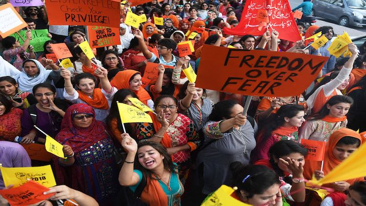 Activists Tense Ahead Of 'Aurat March' In Pakistan