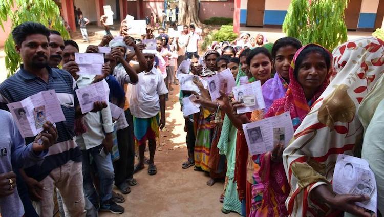 Voting For Final Phase Of Jharkhand Assembly Elect