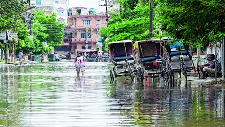 Waterlogging Still Haunts The Residents Of Patna