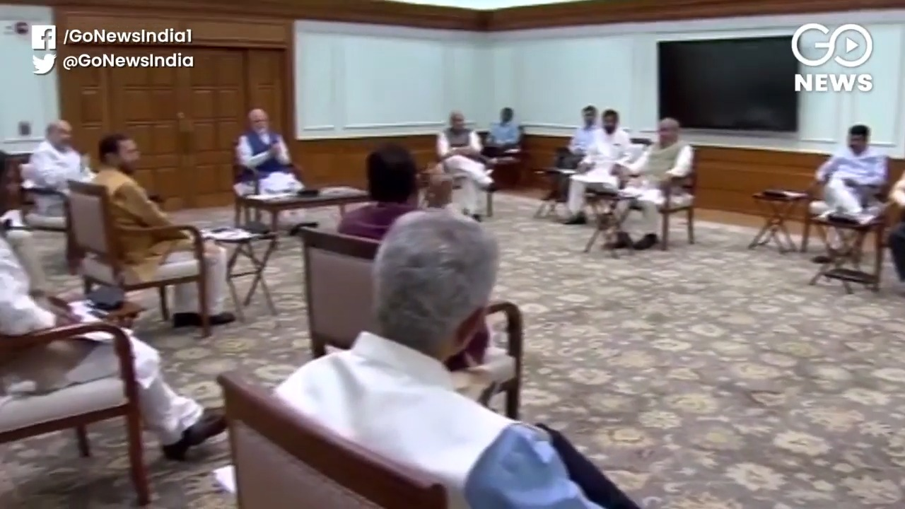 Union Cabinet Meet Chaired By PM Modi At Lok Kalya