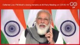 Deferred Live: PM Narendra Modi's closing remarks