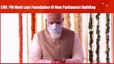 LIVE: PM Modi Lays Foundation Of New Parliament Bu
