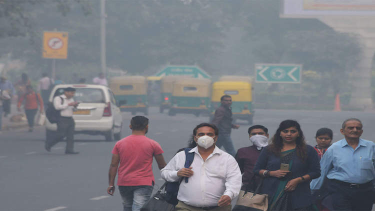 Air Pollution Chokes National Capital