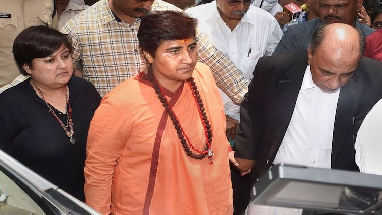 Pragya Thakur Expelled From Defence Committee For