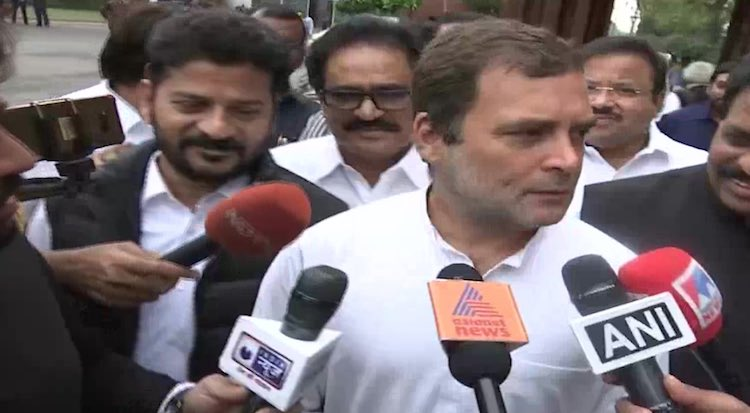 Rahul Gandhi said, 'terrorist Pragya Thakur calls