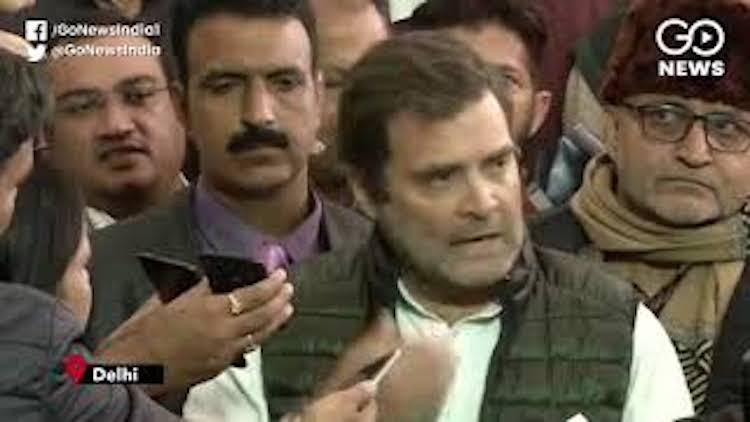 "Rahul Says BJP Twisting ""Rape In India"" Remark"