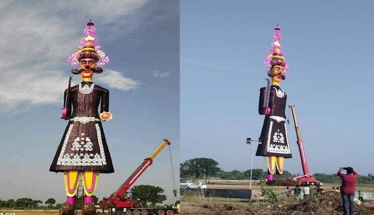 world's tallest ravan effigy