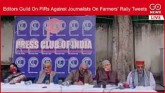 LIVE: Editors Guild On FIRs Against Journalists On