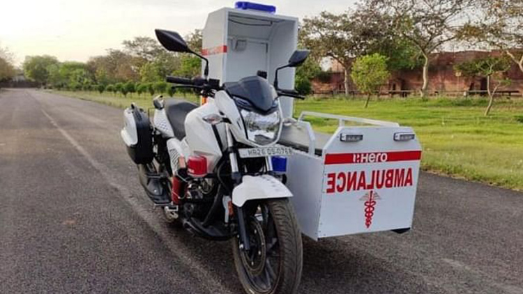 COVID-19 Combat: Motorcycle Maker Makes Mobile Amb