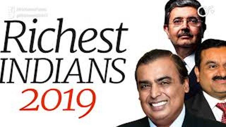 Mukesh Ambani India's Richest, Adani At No.2