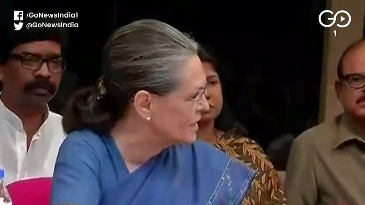 Sonia Flays Centre Over Maharashtra, Economy And N