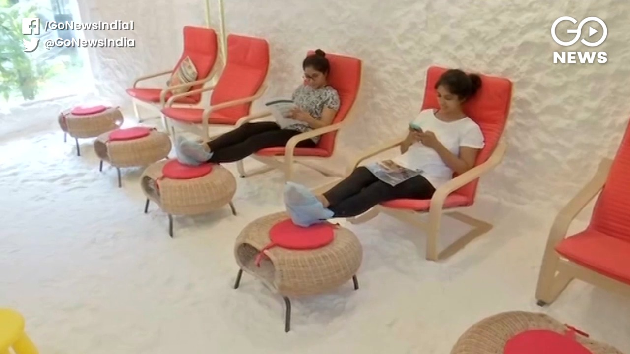 Hyderabad's Salt Therapy For Asthma, Skin Disorder