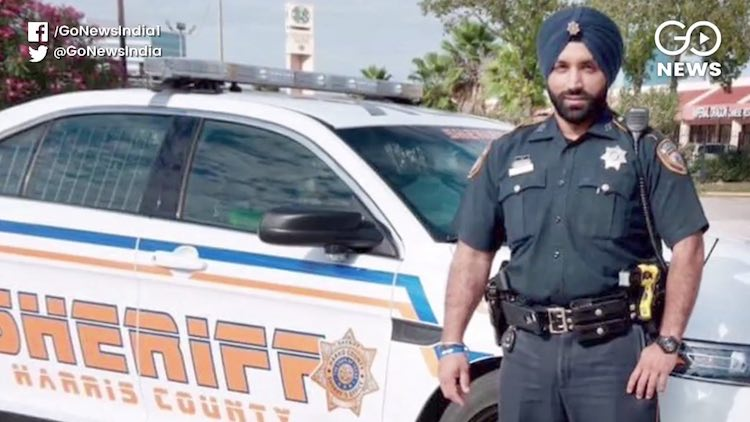 Houston Police Department's First Turbaned Sikh De