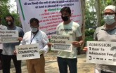 Ghaziabad: Parents Sit On Hunger Strike Seeking Sc