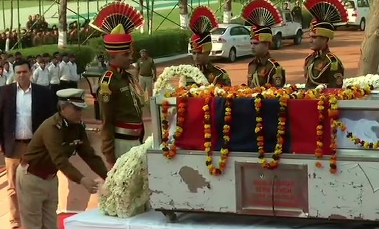Last farewell to police constable killed in north-