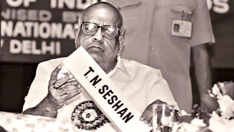Former CEC TN Seshan Dies At 86