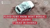 Flood Fury From West Bengal To Jammu, Seven Dead I