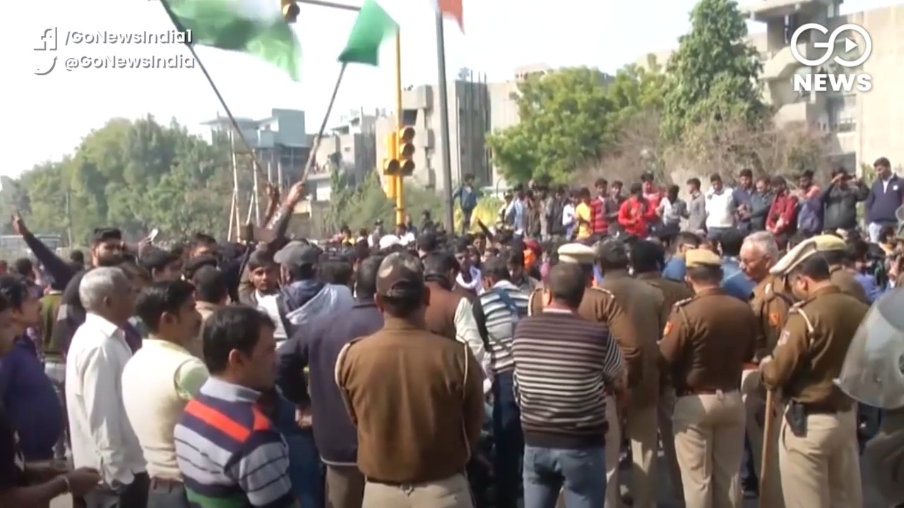 Shaheen Bagh: Locals Stage Counter-Protest Against