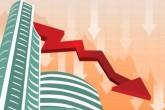 The stock market ruined in the Modi government