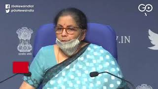 FM: Rs 3 Lakh Crore Collateral-Free Loans Provisio