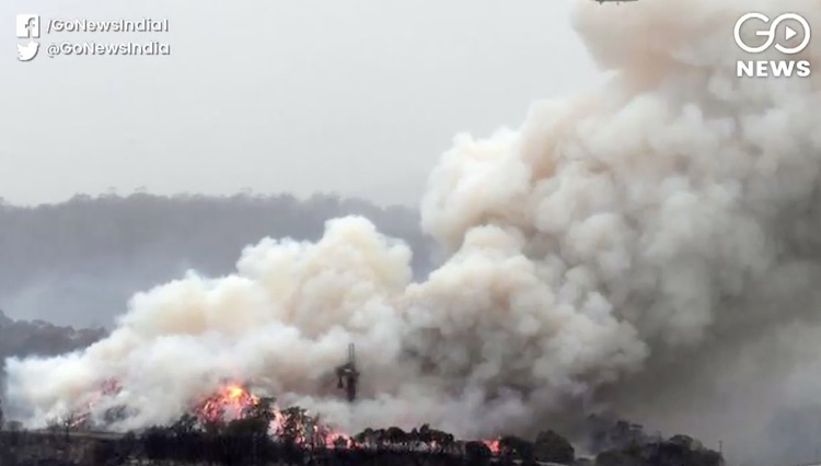 The smoke of Australia will return after circling
