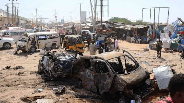 Deadly Car Bomb Kills 76 In Somali Capital