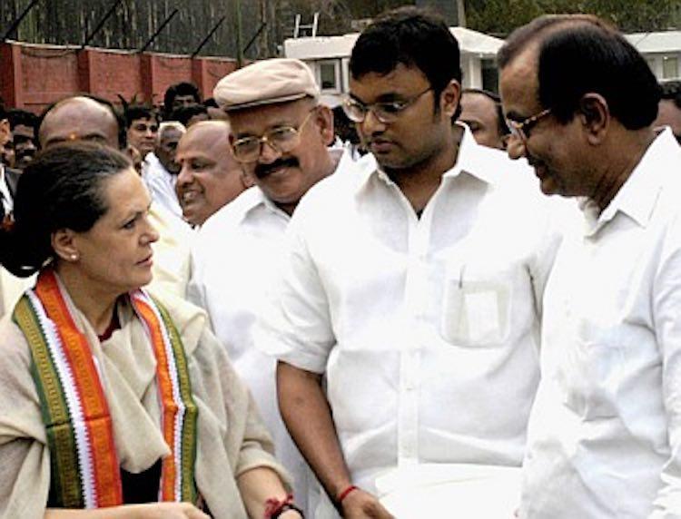 Sonia reaches Tihar to meet former Finance Ministe