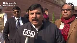 """Disappointing & Directionless"" AAP's Sanjay Singh"