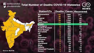 On The Rise: State-Wise Coronavirus Cases In India
