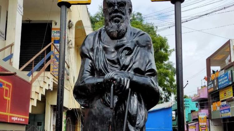 Coimbatore: Outrage After Periyar Statue Smeared W