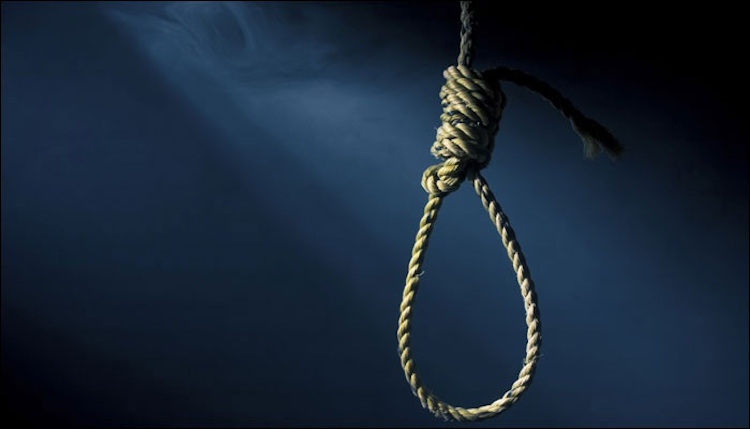 Six people committed suicide by hanging themselves