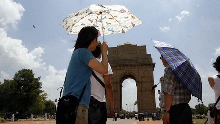 IMD Issues Red Alert As North India Simmers Under