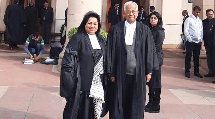 Tarun Gogoi arrives in Supreme Court wearing a bla