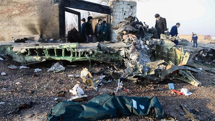 176 Dead In Ukrainian Airliner Crash. Unverified V