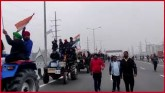 Farmers Take Out Tractor March, 'Trailer' Of Propo