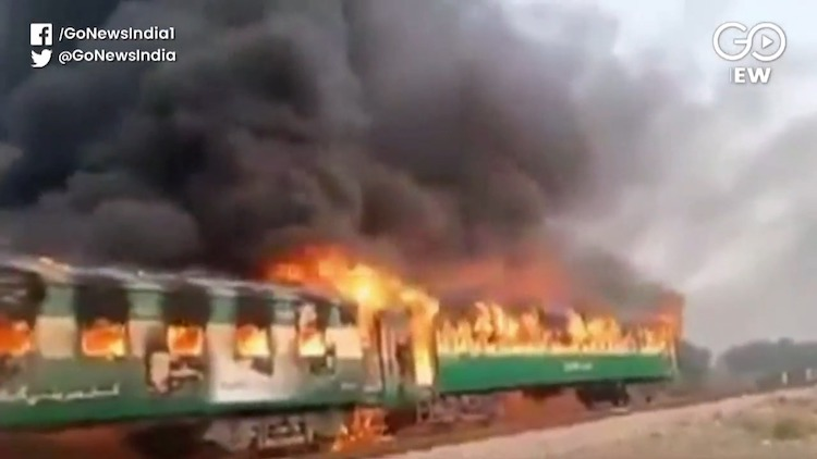 At Least 73 Dead In Pakistan Train Fire