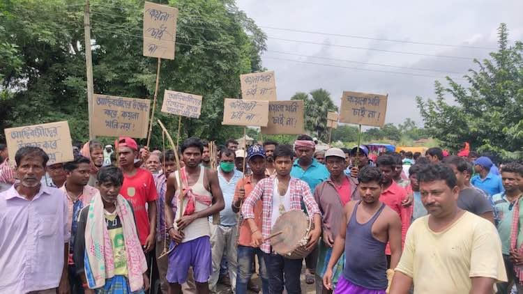 Indigenous Residents Protest Huge Coal Mine Plan I