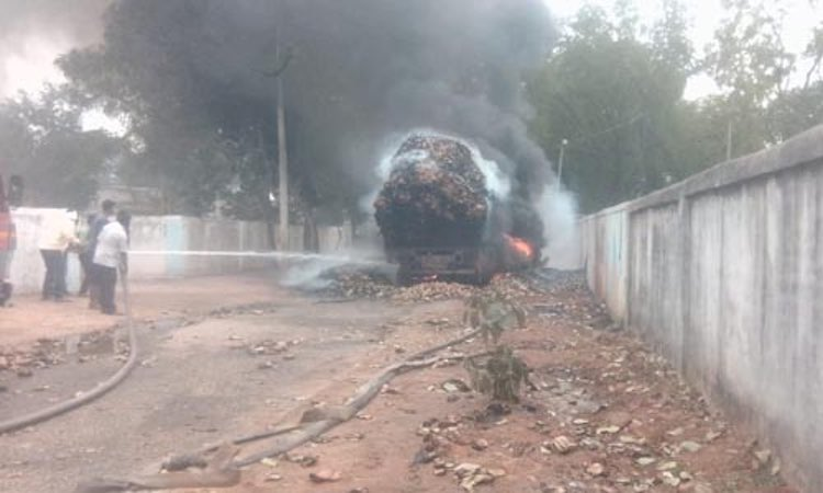 Killing of a truck driver amidst tight security in