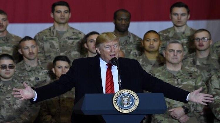 Trump Visits US Troops In Afghanistan On Thanksgiv