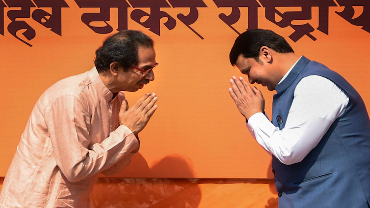 Uddhav Thackeray- Devendra Fadnavis